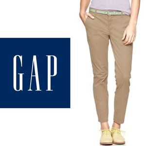 GAP Skinny Mini Khakis - Size 0